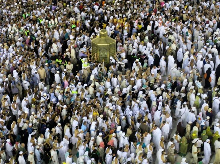Fast zwei Millionen Islamisten weltweit machen eine Pilgerreise nach Mekka - ảnh 1