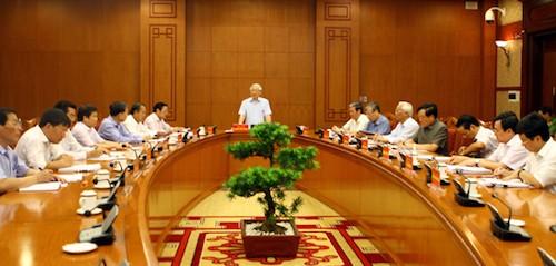 Sitzung des Verwaltungsstabs gegen Korruption - ảnh 1