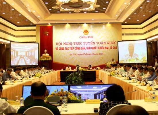 Premierminister leitet Online-Konferenz über Bürgertreffen und Umgang mit Beschwerden und Anklagen - ảnh 1