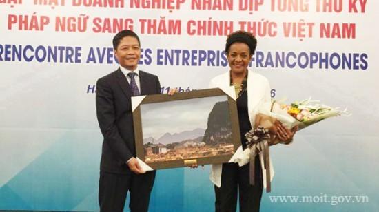 Vietnam spielt große Rolle in Wirtschaftsstrategie der Francofonie - ảnh 1
