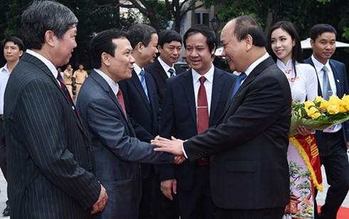 Premierminister: Nationaluniversität Hanoi muss Vorreiter beim Bau eines Landes von Startups sein - ảnh 1