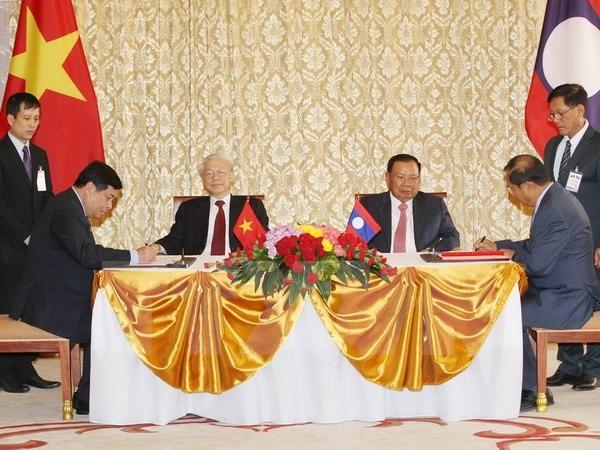 Gemeinsame Erklärung Vietnams und Laos - ảnh 1