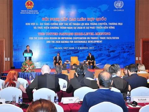 Verstärkung der Zusammenarbeit in Begünstigungen für Logistik und Handel - ảnh 1