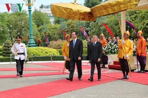 Verstärkung der Freundschaft zwischen Vietnam und Kambodscha - ảnh 1
