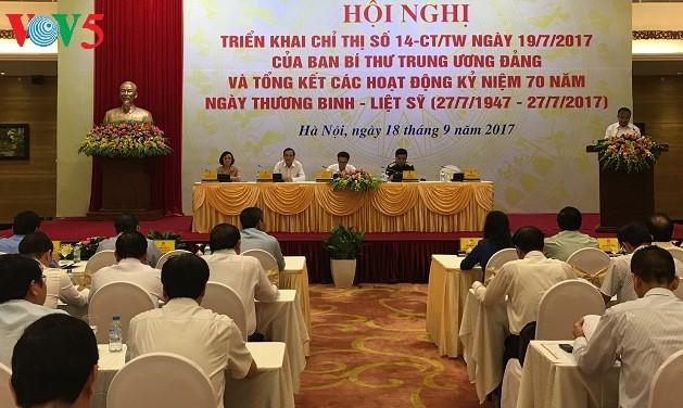 Partei und Staat kümmern sich weiterhin um Menschen mit Verdiensten für das Land - ảnh 1