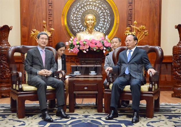 Verbindung zwischen Ho Chi Minh Stadt und Südkorea verstärken - ảnh 1