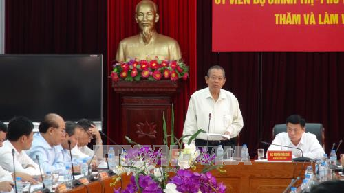 Vizepremierminister Truong Hoa Binh besucht Lai Chau - ảnh 1