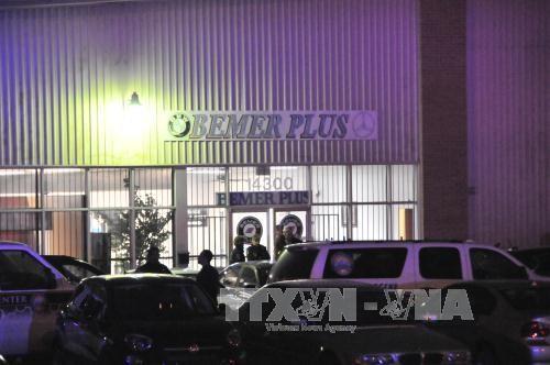 Mindesten drei Tote bei Schießerei in den USA - ảnh 1