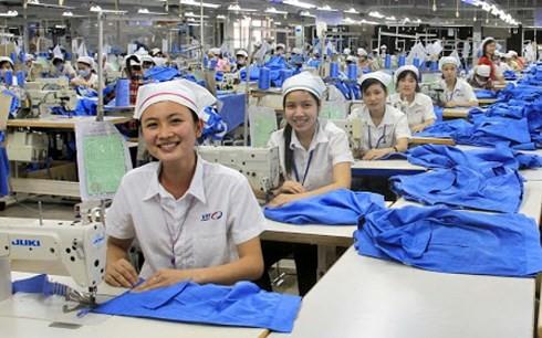 Textilexport setzt sich das Ziel von 33,5 Milliarden US-Dollar im Jahr 2018 - ảnh 1
