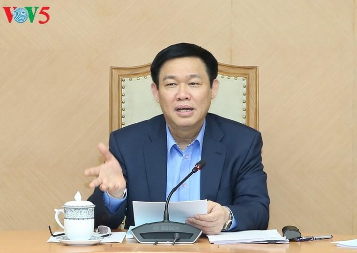Vuong Dinh Hue leitet die Sitzung der Kommission für Verwaltung des staatlichen Kapitals - ảnh 1