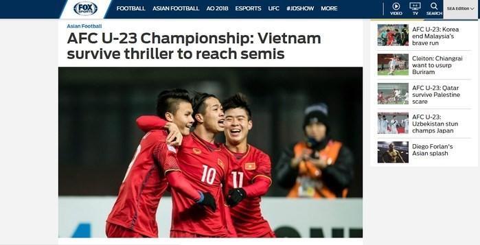 Vietnams U23-Fußballmannschaft wird nach Sieg über Irak sehr gelobt - ảnh 1