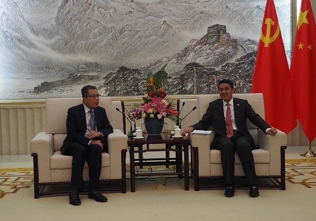 Kommunistische Parteien Vietnams und Chinas verstärken ihre Zusammenarbeit - ảnh 1