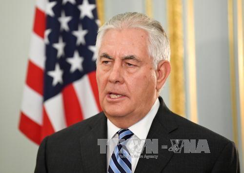 US-Außenminister besucht Nahen Osten für Gespräche über Syrien und Terrorkampf - ảnh 1