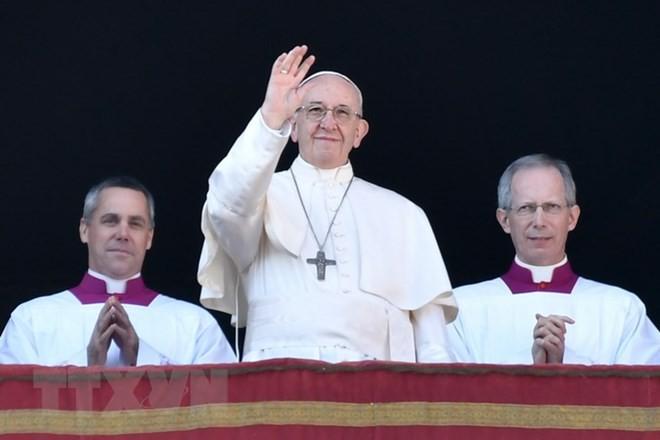Papst Franziskus schickt Glückwunsch zum Neujahr an Asiaten - ảnh 1