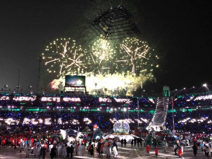 Olympische Winterspiele in PyeongChang beendet - ảnh 1