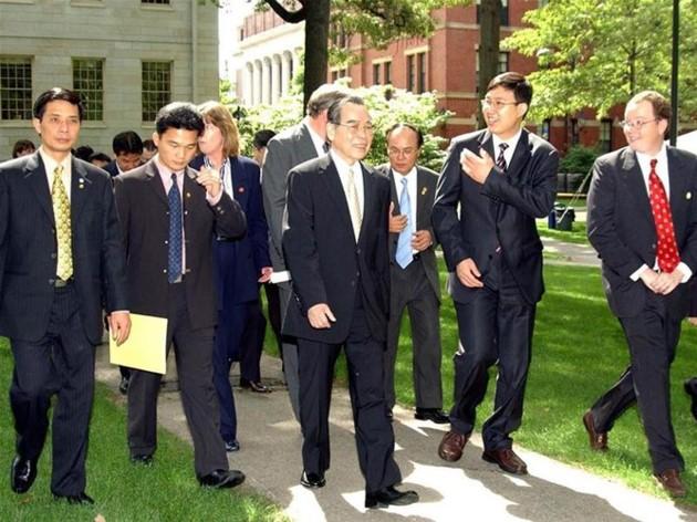 Ehemaliger Premierminister Phan Van Khai hinterließ viele diplomatische Prägungen - ảnh 10