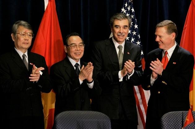 Ehemaliger Premierminister Phan Van Khai hinterließ viele diplomatische Prägungen - ảnh 11