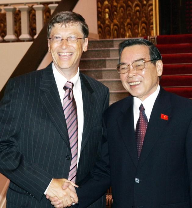 Ehemaliger Premierminister Phan Van Khai hinterließ viele diplomatische Prägungen - ảnh 12