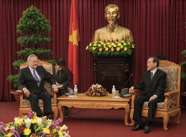 Ehemaliger Premierminister Phan Van Khai hinterließ viele diplomatische Prägungen - ảnh 13