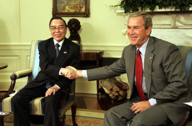 Ehemaliger Premierminister Phan Van Khai hinterließ viele diplomatische Prägungen - ảnh 9