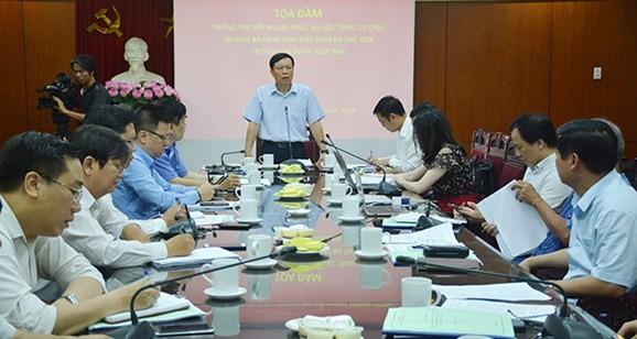 Verstärkung der Rolle auswärtiger Information und Werbung für das Image Vietnams in der Welt - ảnh 1