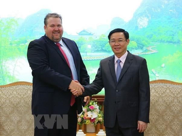 Vizepremierminister Vuong Dinh Hue trifft Management-Direktor für Vietnam des US-Energiefirma AES - ảnh 1