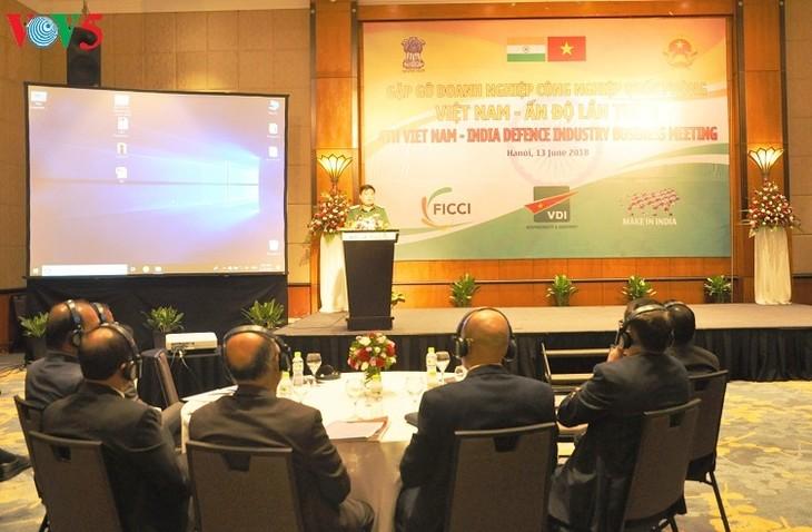 Treffen von Verteidigungsunternehmen Vietnams und Indiens - ảnh 1