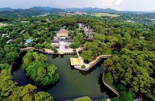Hue bewahrt Grab des Königs Tu Duc und An Dinh-Palast als 3D-Modell - ảnh 1