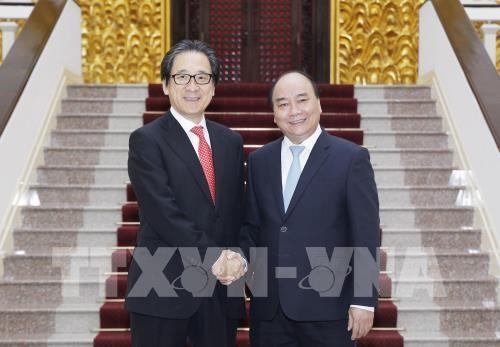 Premierminister Nguyen Xuan Phuc trifft JETRO-Vorsitzenden Hiroyuki Ishige - ảnh 1
