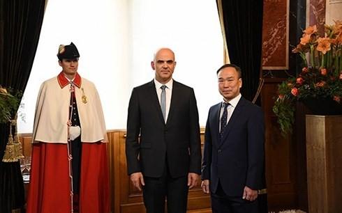 Beziehungen zwischen Vietnam und der Schweiz entwickeln sich ständig - ảnh 1
