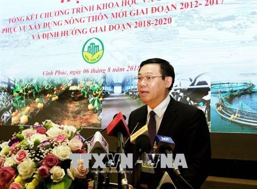 Vizepremier Hue nimmt an Konferenz über Technologien für Neugestaltung ländlicher Räume teil - ảnh 1