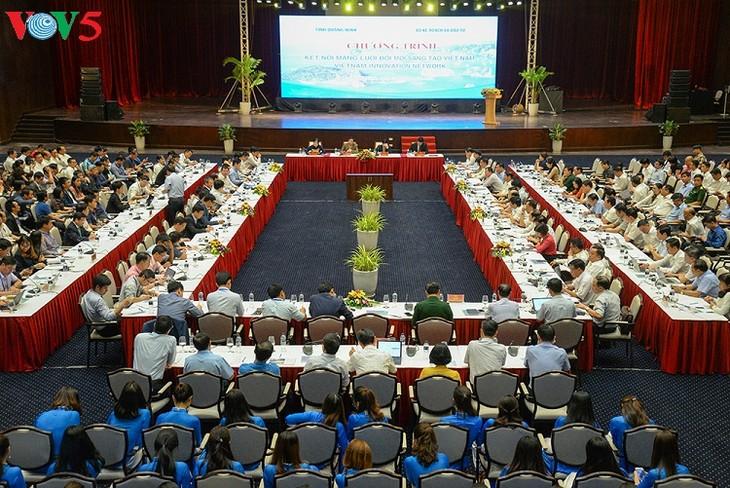 100 Wissenschaftler schlagen Quang Ninh Schritte zur Annäherung der 4. Industrierevolution vor - ảnh 1