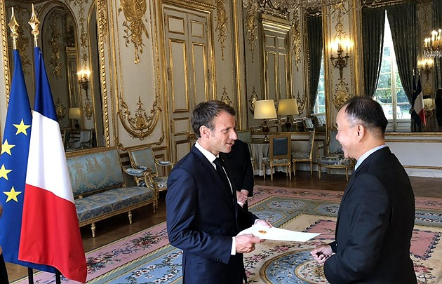 Frankreichs Präsident schätzt die wachsende Rolle Vietnams - ảnh 1