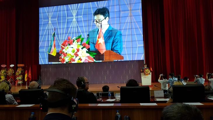 Vietnamesisch-deutsche Universität feiert ihren 10. Gründungstag - ảnh 1