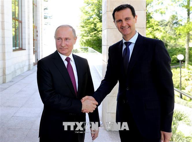 Russland sagt Syrien Hilfe bei Wiedergewinnung der Souveränität zu - ảnh 1