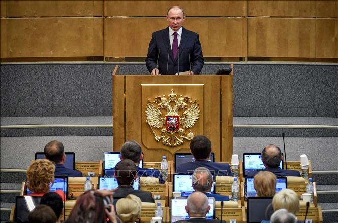 Russland will vollständigen Rückzug ausländischer Armeen aus Syrien - ảnh 1