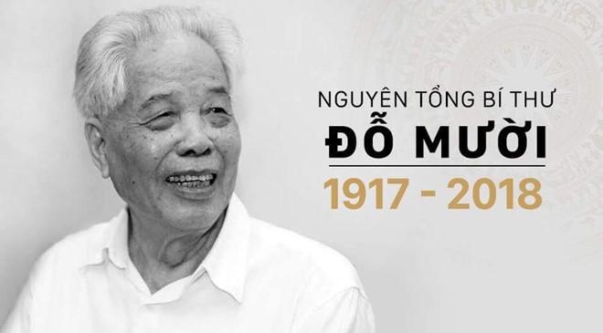 Sondermitteilung über Trauerfeier für ehemaligen KPV-Generalsekretär Do Muoi - ảnh 1