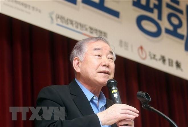 Südkorea ruft USA zur Lockerung der Sanktionen gegen Nordkorea auf - ảnh 1