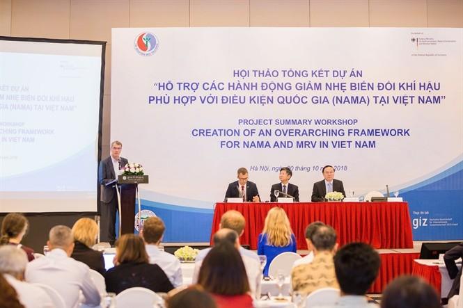 NAMA-Projekt trägt zur Anpassung an den Klimawandel in Vietnam bei - ảnh 1