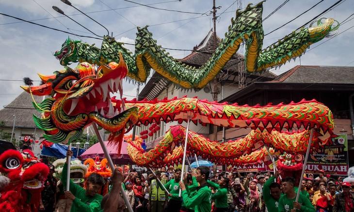 Asien feiert das Neujahr - ảnh 1