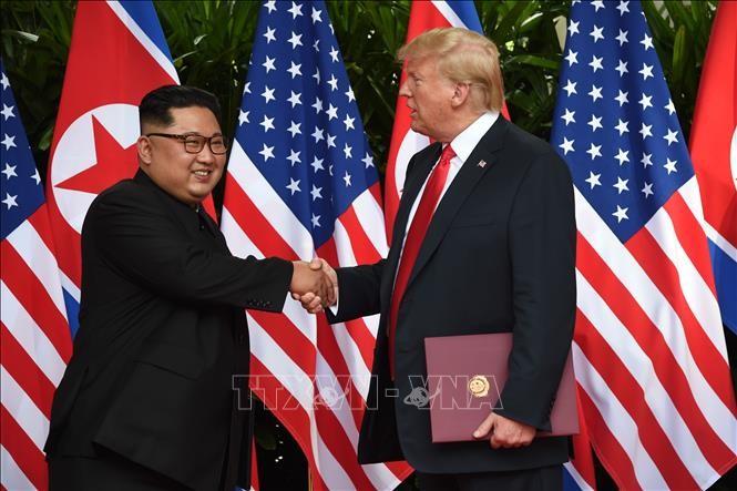 Nordkoreas Medien rufen USA zu geeigneten Aktivitäten auf - ảnh 1