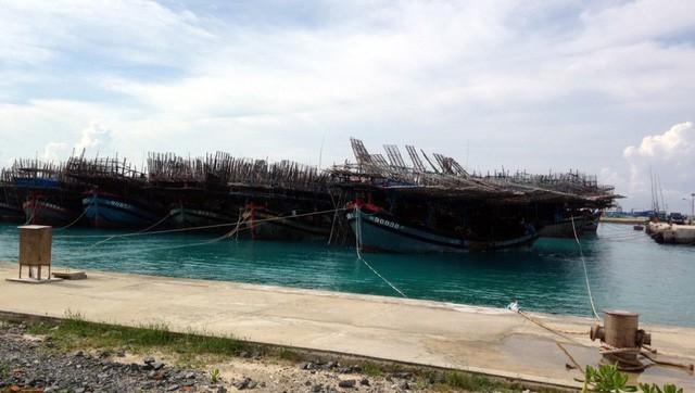 Schiffsanlegestelle Sinh Ton – Stützpunkt der Fischer bei der Seefahrt - ảnh 1