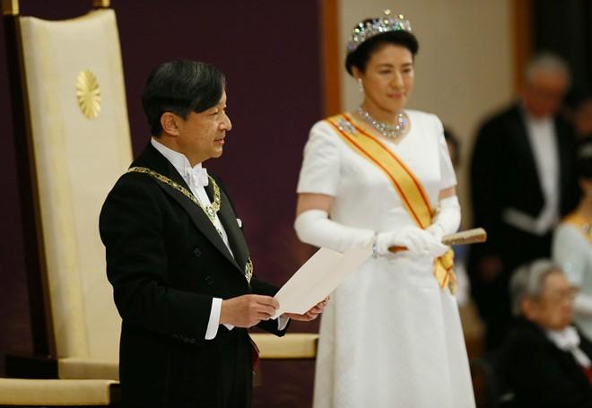 Partei- und Staatschefs beglückwünschen Japans Kronprinzen Naruhito zu seiner Krönung zum Kaiser - ảnh 1