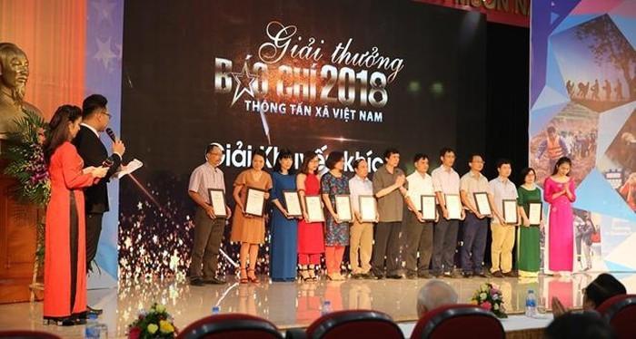 Übergabe des Preises Ta Quang Buu und des Pressepreises für Wissenschaft und Technologie 2018 - ảnh 1