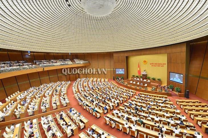 Parlament verabschiedet Beschlüsse über Budgetrechnung 2017 und Gesetzgebungsprogramm 2020 - ảnh 1