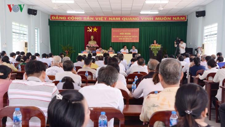 Parlamentspräsidentin Nguyen Thi Kim Ngan trifft Wähler im Kreis Phong Dien in Can Tho - ảnh 1