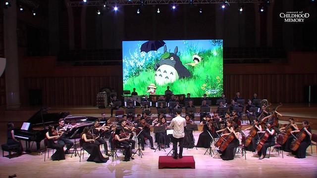 """Concert of Childhood Memory"" in der Nationalen Musikakademie in Hanoi - ảnh 1"