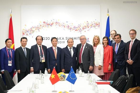 Impressionen der bilateralen und multilateralen Kooperationen - ảnh 2