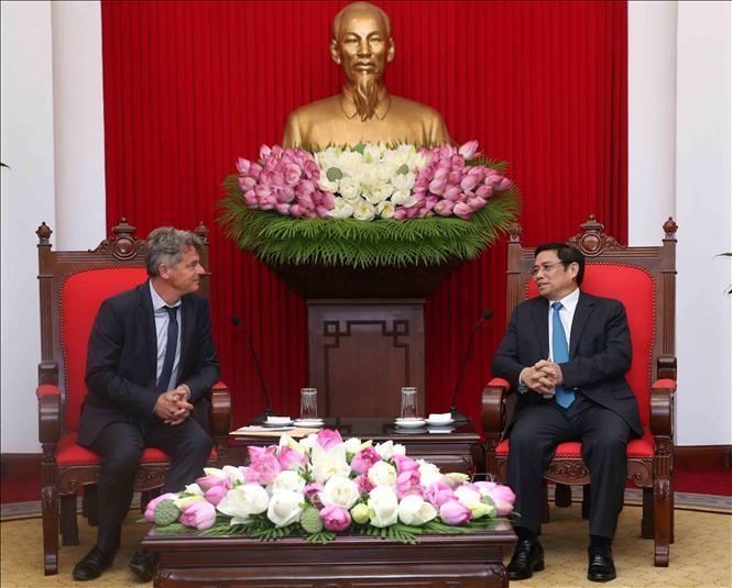 Kommunistische Parteien Vietnams und Frankreichs verstärken ihre Zusammenarbeit - ảnh 1