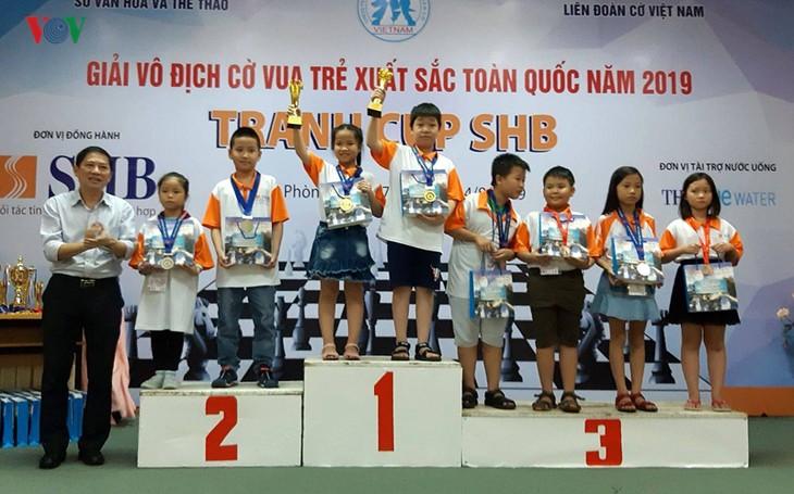 Das Jugendschachturnier SHB-Pokal: Team von Ho Chi Minh Stadt führt die Rangliste - ảnh 1